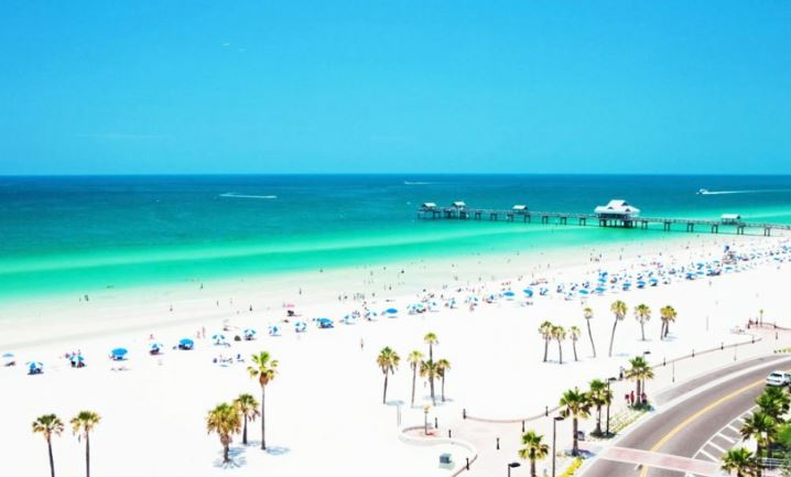 Clearwater Beach rated #1 Beach in the US and #6 in the World