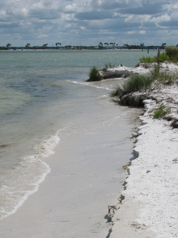 Pass between Caladesi Island and Honeymoon Island, Florida