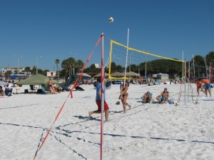 Volleyball at Clearwater Beach