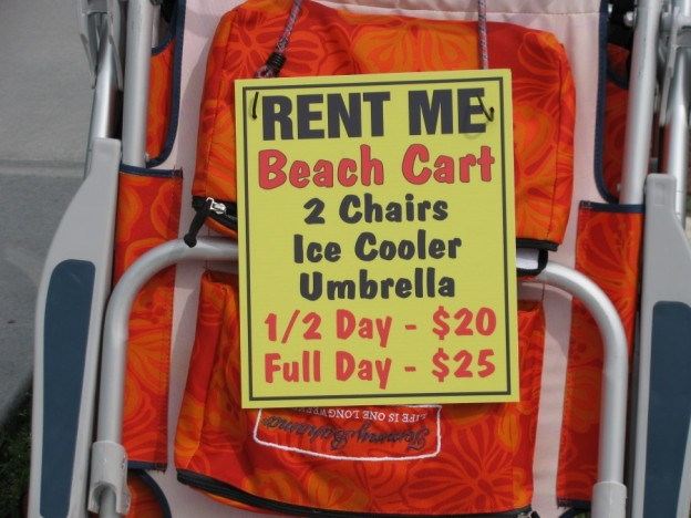 Clearwater Beach equipment rental