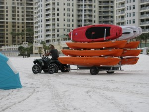 Clearwater Beach kayak rentals