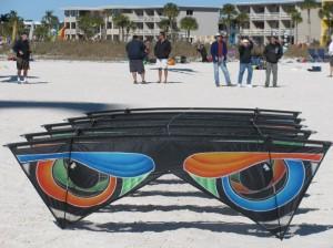 Trick kite at the Treasure Island Kite Festival