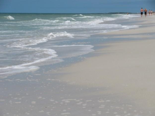 Clearwater Beach shoreline