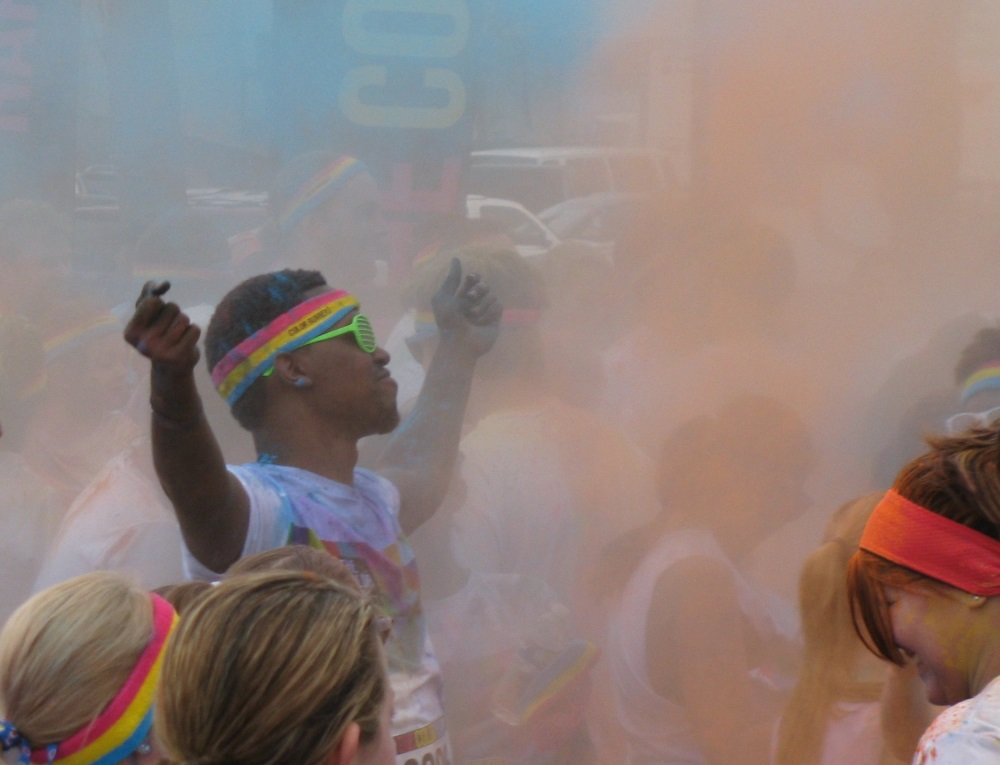 Clearwater Color Run 2014