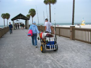 Pier 60 fishermen Clearwater Beach