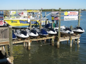 Jet Ski and parasail rental