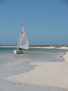 Sailboat at Honeymoon island