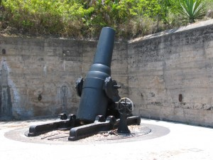 Fort Desoto cannon