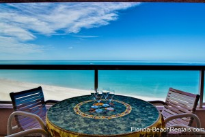 beachfront rental condo