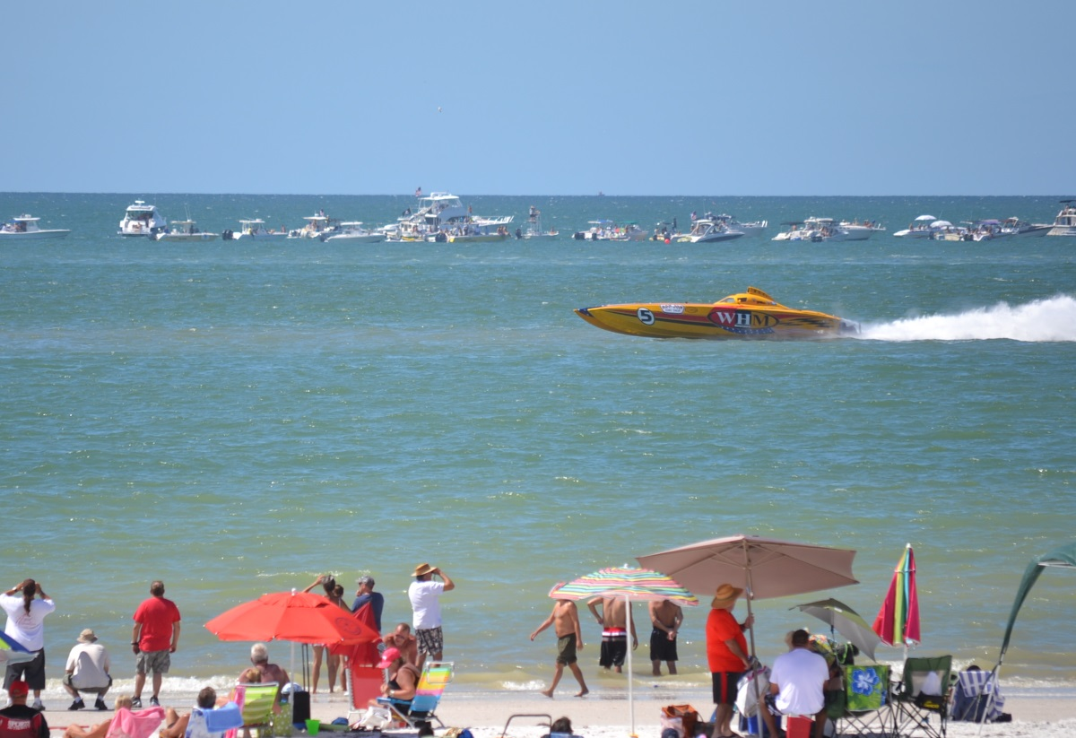Super Boat Races 2014 at Clearwater Beach