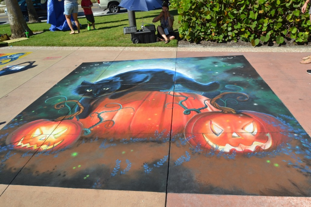 Chalk Walk Clearwater Beach