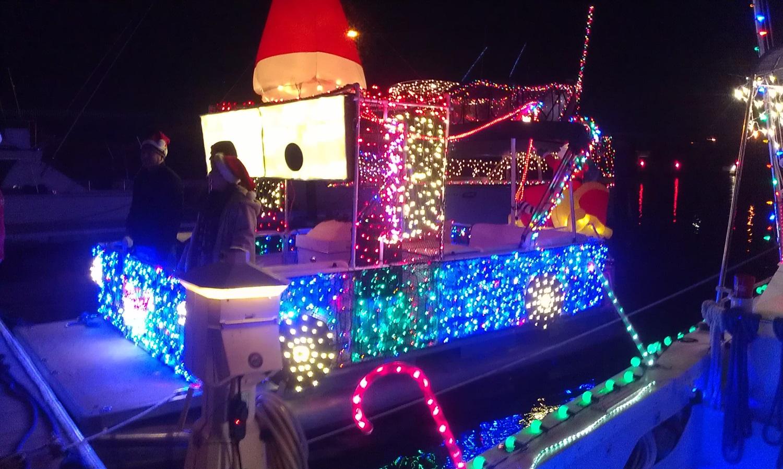 Tarpon Springs Holiday Lighted Boat Parade