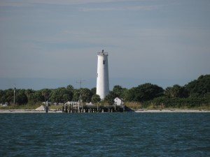 Lighthouse on Egmont Key