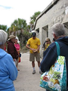Guided tours at Egmont Key