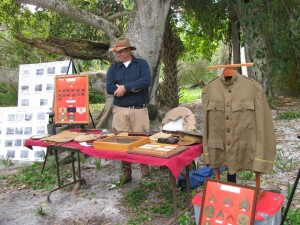 History display at Egmont Key