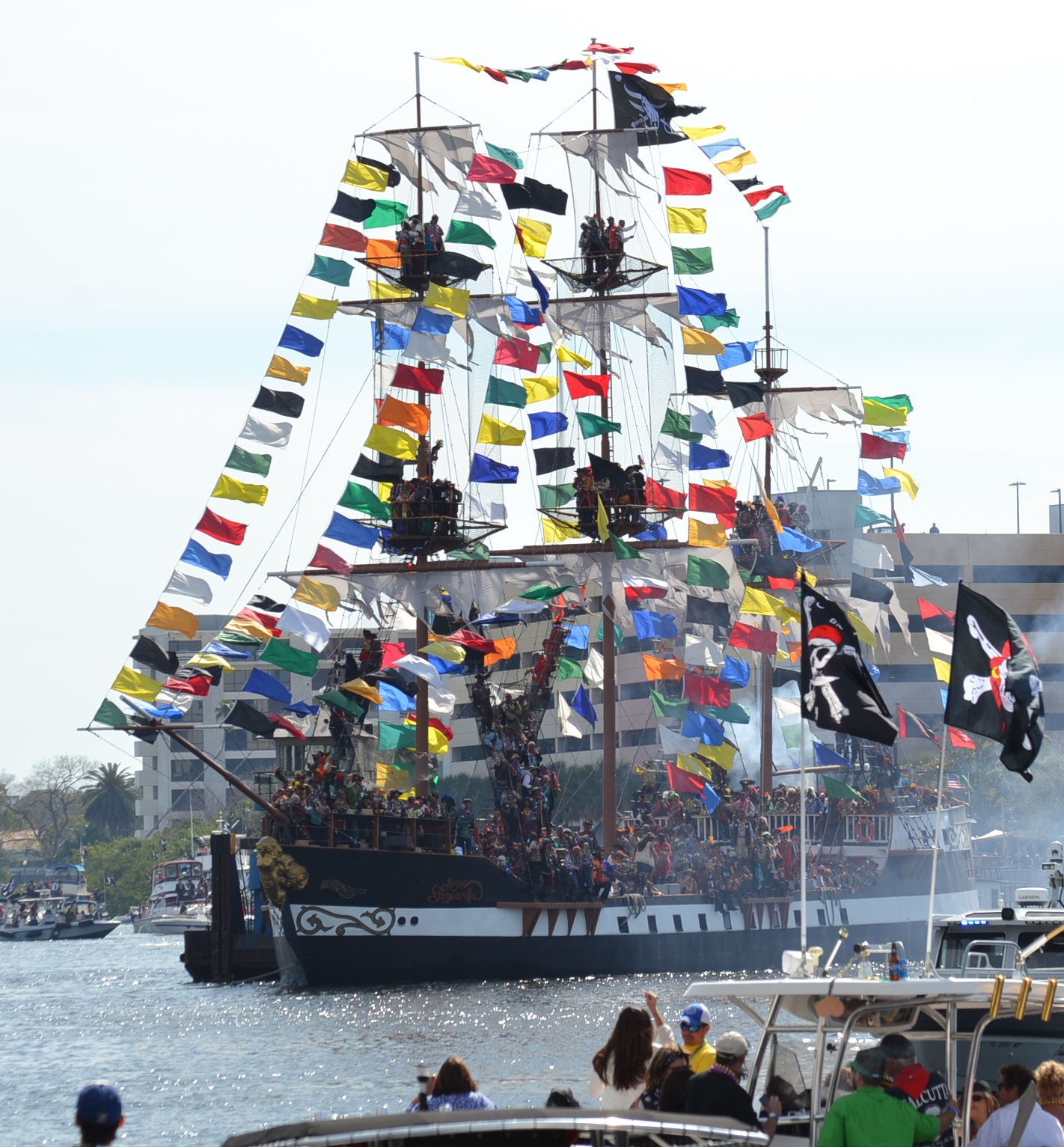 Tampa Falls to Gasparilla Pirate Attack Again