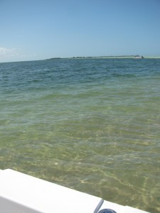Boating to Anclote Key sandbar