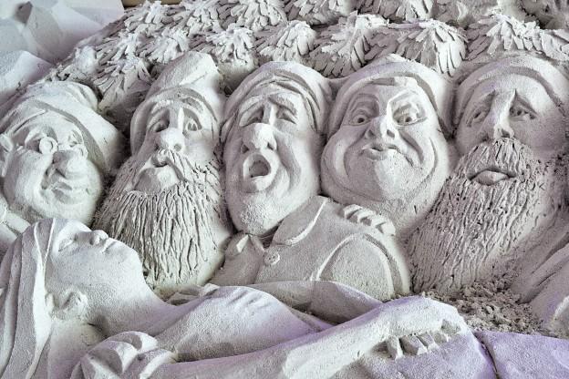 Seven Dwarfs sand