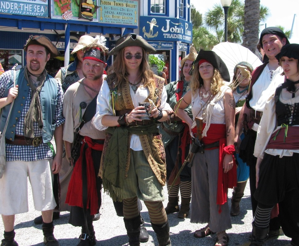 Pirate Day Fun and Warfare