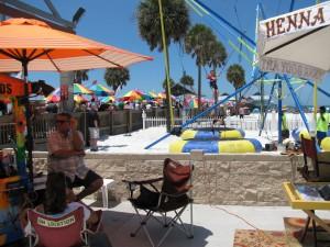 Carnival atmosphere Sugar Sand Festival