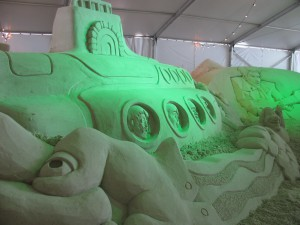 Yellow Submarine Pier 60 Sugar Sand Festival