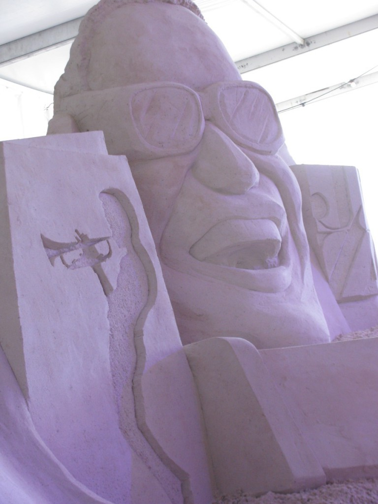 Ray Charles sculpture Sugar Sand Festival Clearwater Beach
