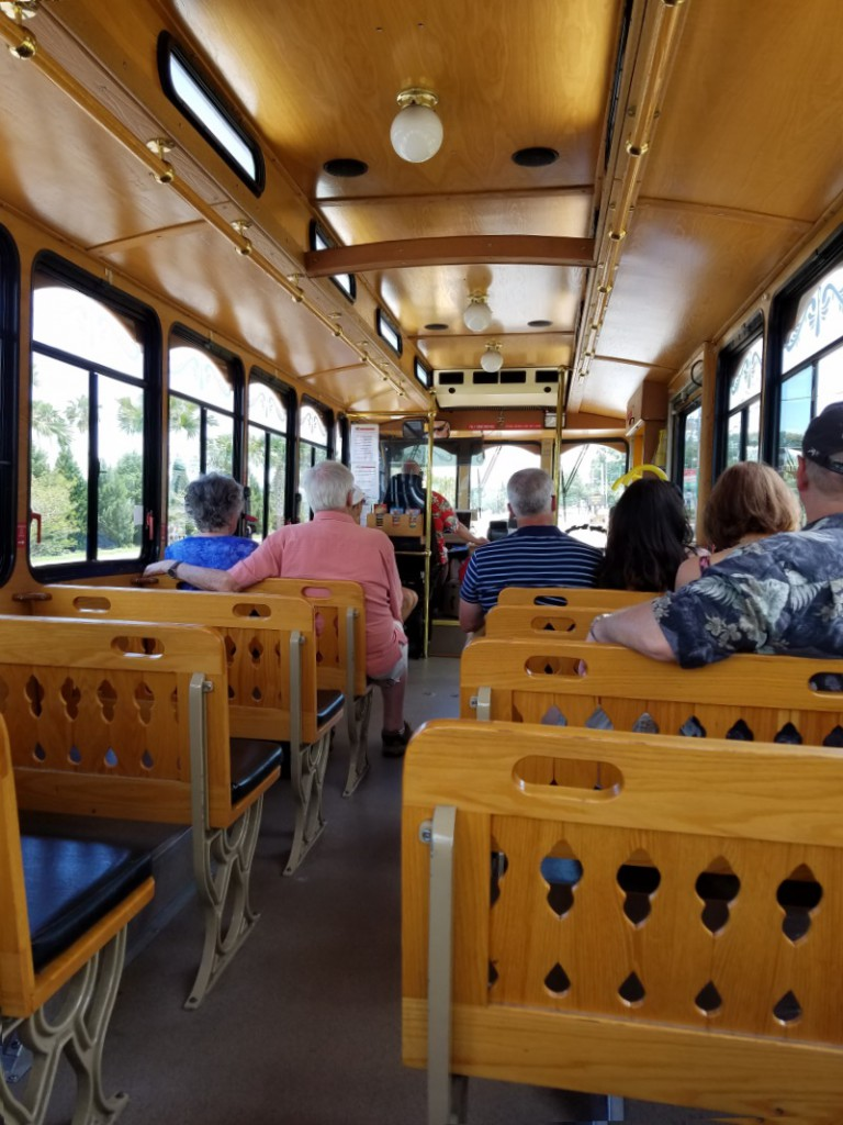 Clearwater trolley bus