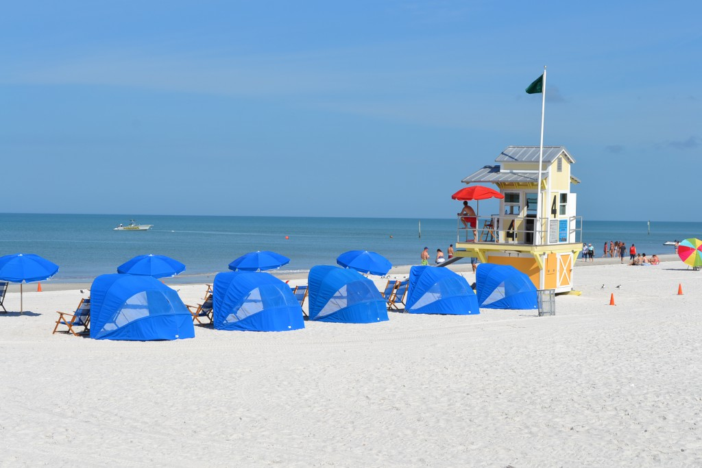 Sunny beach day Clearwater Beach