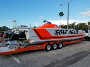 Super Boat at Clearwater Beach