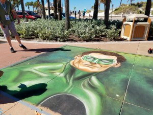 Chalk Walk art Clearwater