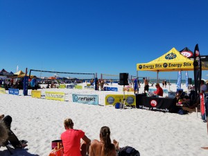 Clearwater Beach volleyball October