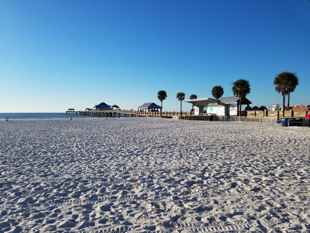 Clearwater Beach January